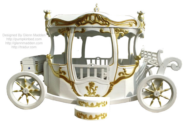 Cinderella Bed design by Glenn Madden